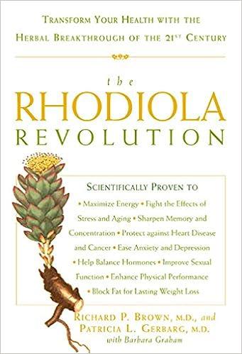 The Rhodiola Revolution: Amazon.es: RICHARD P. BROWN: Libros ...