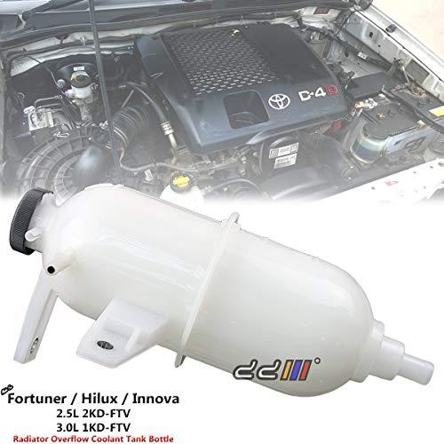 (Radiator Overflow Bottle Coolant Tank For Toyota Hilux VIGO 1KD 2KD Diesel 05-14)