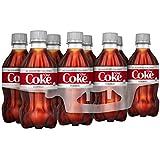 Diet Coke Soda Soft Drink, 12 fl oz, 8 Pack