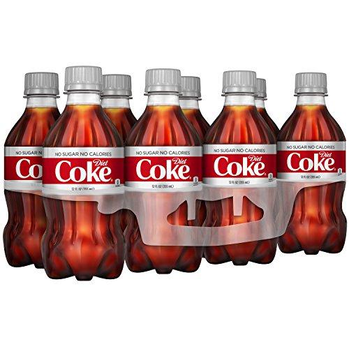 Coke Light - Diet Coke Soda Soft Drink, 12 fl oz, 8 Pack