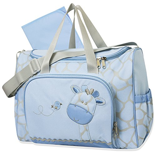 Tender Kisses Giraffe 2 in 1 Diaper Bag (Giraffe Tender)