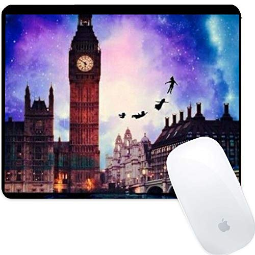 DISNEY COLLECTION Mouse Pad Rectangle Mouse Pad Peter Pan Background Drop Protection