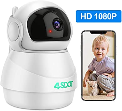 1080P HD Wireless IP Camera Security Smart WiFi CCTV Cam Baby//Pet Monitor PTZ 3D