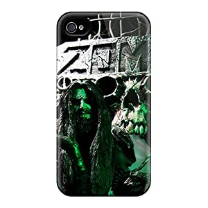 CharlesPoirier Iphone 4/4s High Quality Hard Phone Case Custom Vivid Rob Zombie Pictures [IbW9300mSRf]