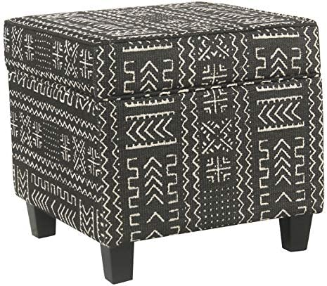 HomePop Square Storage Ottoman