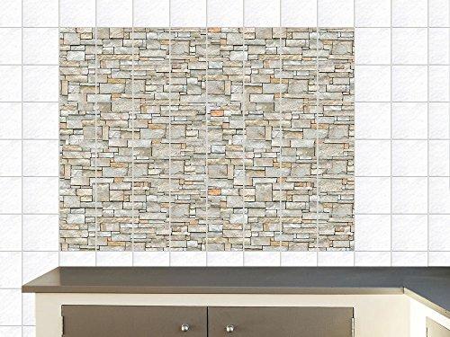 Adesivi per piastrelle per cucina da parete muro di mattoni