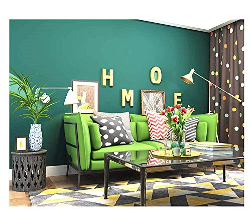Blooming Wall:Removable Super Thick Peel-and-Stick Paint Non-Woven Textured Wallpaper Self Adhesive Wallpaper Wall Decor Contact Paper