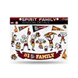Rico Minnesota Bulldogs Official NCAA 8.5'' x 11'' Family and Pets Sticker Sheet 669355