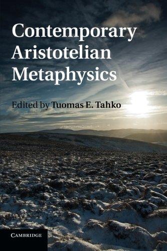 Contemporary Aristotelian Metaphysics pdf