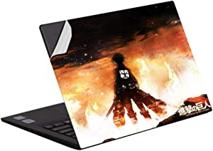 Laptop Skins Anime Attack on Titan Laptop Skin Vinyl 13-14 inch 15 inch 15.6 inch Decal Notebook Cover Protective Skin B 15.6 inch