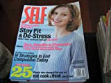 Self Magazine (CALISTA FLOCKHART...Ally Mcbeal , Stay Fit & De-Stress , Sex, Health & Pleasure, February 1998)