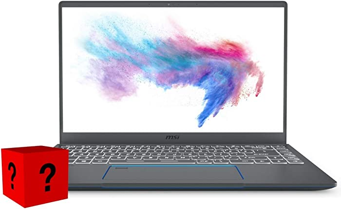 "XPC MSI Prestige 14 Notebook EVO Plus (Intel 10th Gen i5-10210U, 16GB RAM, 1TB NVMe SSD, GTX 1650 4GB, 14"" Full HD, Windows 10 Pro) Professional Laptop"
