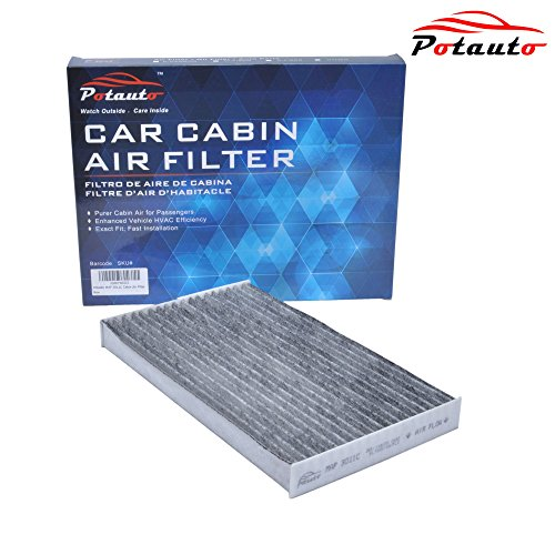 POTAUTO MAP 3011C Heavy Activated Carbon Car Cabin Air Filter Replacement compatible with NISSAN, Juke, leaf, Sentra, Cube
