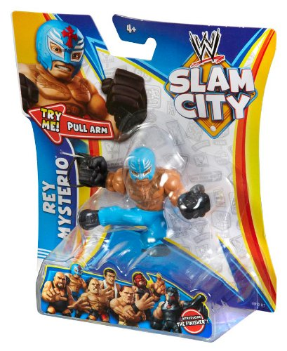 (WWE Slam City Rey Mysterio Figure)