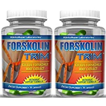 MaritzMayer Forskolin Trim Metabolic Support Weight Loss Formula 10% 125mg 30 Capsules (2)
