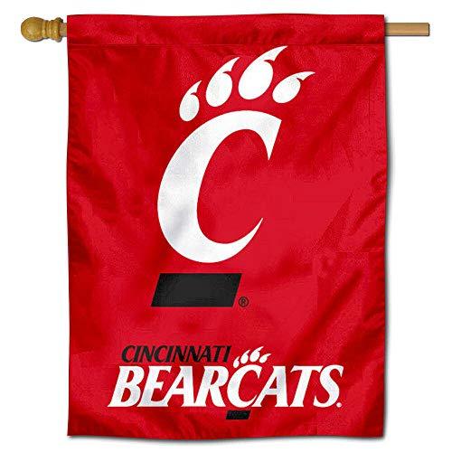 - Cincinnati Bearcats Banner House Flag
