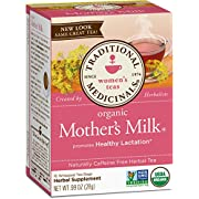 Traditional Medicinals Organic Mother's Milk Women's Tea, 16 Tea Bags (Pack of 6)