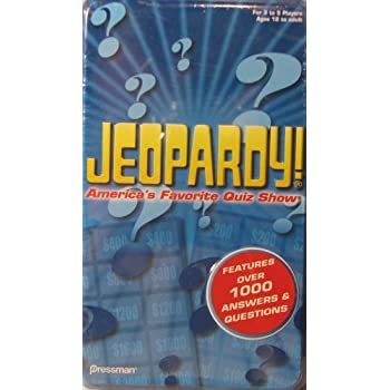 Amazon.com: Jeopardy the Card Game - Travel Quiz Game With