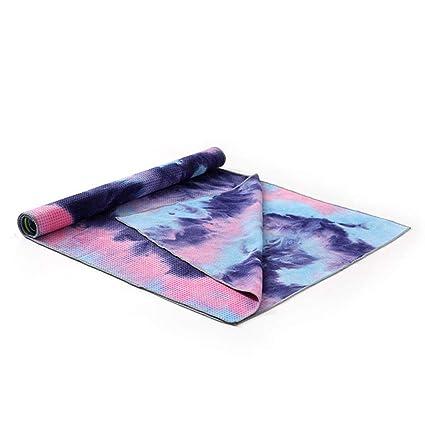 Amazon.com : Jiecikou Travel Yoga Mat with Storage Bag ...