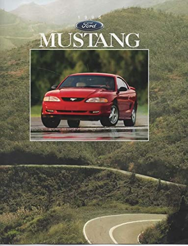 1996 Ford Mustang and Mustang GT, Dealer Sales Brochure