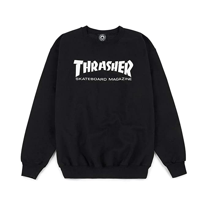 check-out 1c09c 91fe7 Thrasher Hometown black Sweater