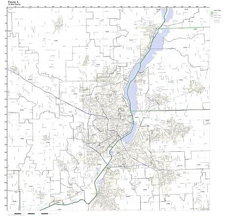 Amazon.com: Peoria, IL ZIP Code Map Not Laminated: Home & Kitchen on new york city map, winslow in map, duquoin map, sun city az street map, rockford il map, sun lakes az street map, san francisco to los angeles map, chicago hts map, tartesso map, city of garden grove map, anshan map, pekin street map, norman map, san juan pr map, beckley map, cincinnati map, providence map, saint louis city map, sun city grand map, pascagoula map,