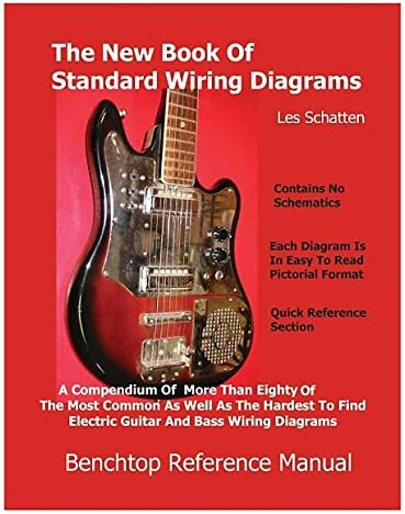 electric bass wiring diagrams amazon com the new book of standard wiring diagrams musical  new book of standard wiring diagrams