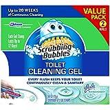 Scrubbing Bubbles Toilet Gel Rain Shower, 1 Count