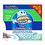 Scrubbing Bubbles Toilet Cleaning Gel Fresh, 2Count, 2.68 Oz