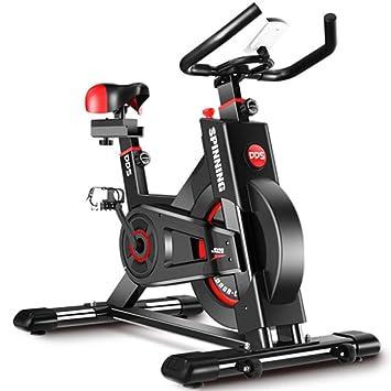 Lcyy-Bike Bicicleta Entrenadores Manual Resistencia Ajustable 8 Kg Volante Cardio Workout con Pantalla Multifuncional
