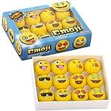 Emoji Universe: 2-Ply Professional Practice Golf Balls, 12 Emoji Balls