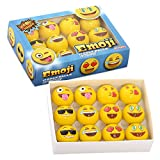 Emoji Universe: 2-Ply Professional Practice Golf Balls, 12 Emoji Balls (Sports)