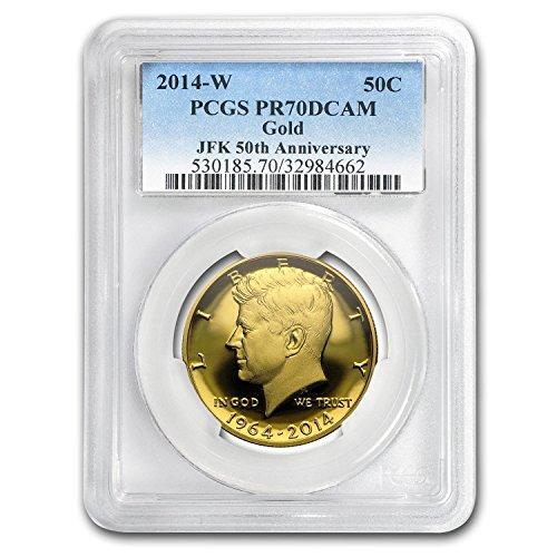 2014 W 3/4 oz Gold Kennedy Half Dollar PR-70 PCGS Half Dollar PR-70 PCGS