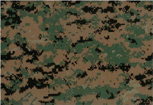 USMC Marpat Woodland Green Digital Camouflage Nylon/Cotton Twill 65