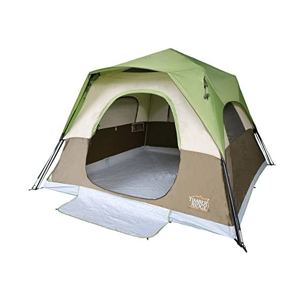 Timber-Ridge-6-Person-Family-Camping-Tent-Instant-Cabin-With-Rainfly-for-Outdoor-10×10-feet