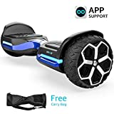 Magic hover 6.5' inch T581Hoverboard, All Terrain Off Road Hoverboard,with Bluetooth Speaker and App-Enabled, Smart Self Balancing...