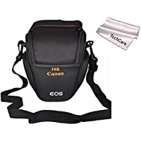 TechCare Tm Ultra Light Camera Case Bag for Canon Rebel T4i , Rebel T5i, Rebel SL1 ,with 18-135mm, 18-55mm Lens T3i T3 (650D 600D 700D 1100D)