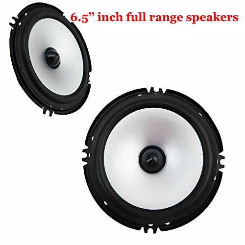 Eaglerich 6.5 Inch Car Audio Frequency Horn Subwoofer Speakers Full Range Loud Speakers by Eaglerich