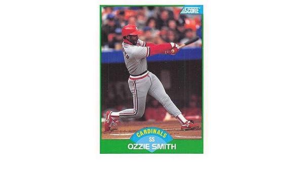Amazoncom 1989 Score 80 Ozzie Smith St Louis Cardinals