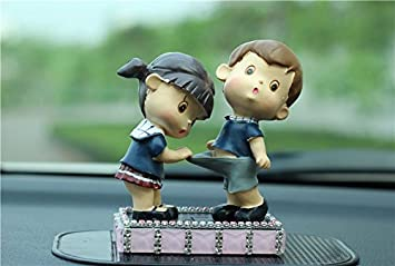 Amazon.com: Car Accessories Doll Toy /Dashboard Decoration for Car ...