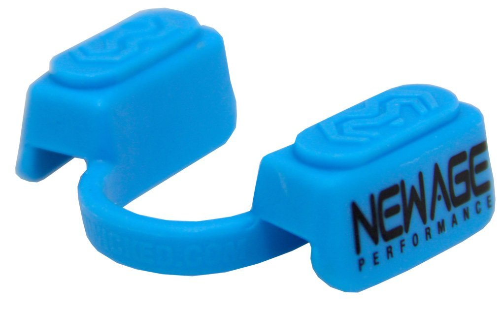New Age Performance 5DS Sports And Fitness Cardio-Based Activities Mouthpiece - Lower Jaw - No-Contact - Blue