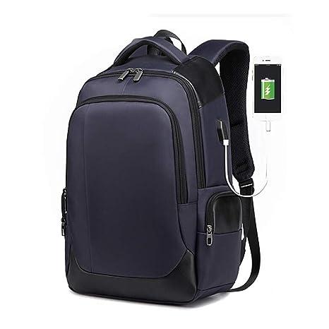 SFGHOUSE Mochila para Portátil Hombre on USB Puerto de Carga Mochila Portatil para Escolar Negocio Viajes