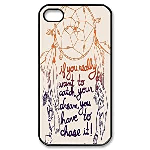 Dream Catcher Mobile Case Cover iPhone 5 and 5s Plastic and TPU (Laser Technology)