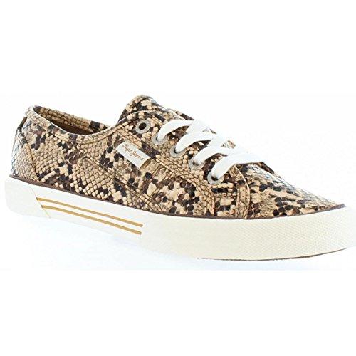 Pepe Jeans London Schuhe Für Damen Pepe Jeans PLS30397 Aberlady 875 Capuccino