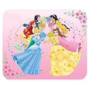 Mystic Zone Personalized Disney Princess Rectangle Mouse Pad (Black) by ruishername