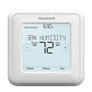 Honeywell RCHT8600ZW1003/E Zwave Touchscreen Thermostat White