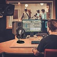 Soporte para auriculares de aluminio Avantree Soporte para auriculares con soporte de cable para Sennheiser, Sony, Audio-Technica, Bose, Beats, AKG, pantalla para auriculares para juegos - HS102