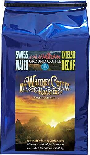 Mt. Whitney Coffee Roasters Colombia Excelso Swiss Water ...