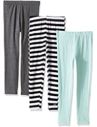 Limited Too Girls' 3 Piece Pack Knit Leggings