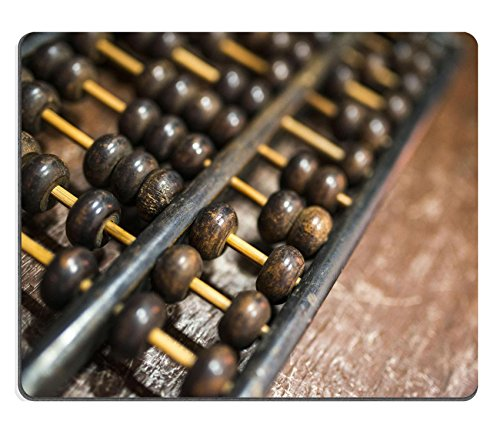 Price comparison product image Liili Mouse Pad Natural Rubber Mousepad IMAGE ID 32837212 Old abacus